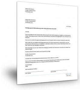 Mietvertrag Kündigung