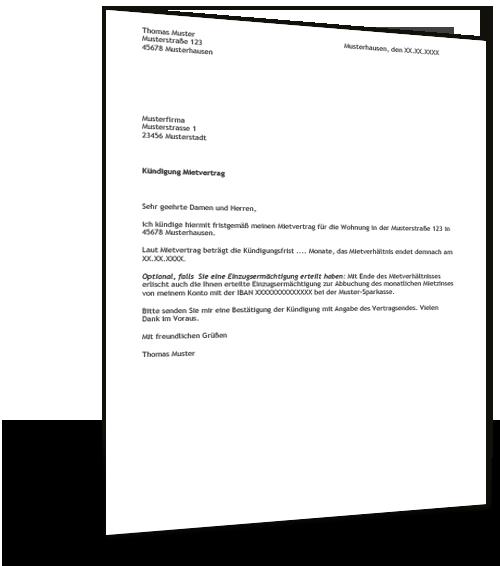 Mietvertrag Kündigung Ratgeber Mietrecht